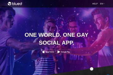 Blued Review: Main Page Capture - GayLoveMe